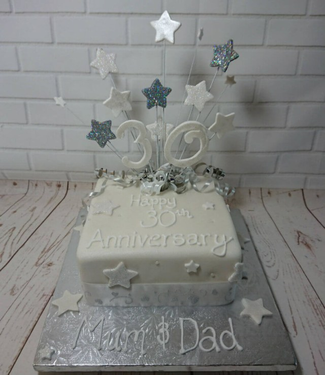 30Th Wedding Anniversary Decorations 30th Pearl Wedding Anniversary Party Supplies Quality Cake Company