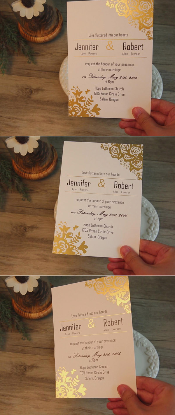 Amazing Wedding Invitations Smitten With 12 Gorgeous Wedding Invitations With Gold Foil Details