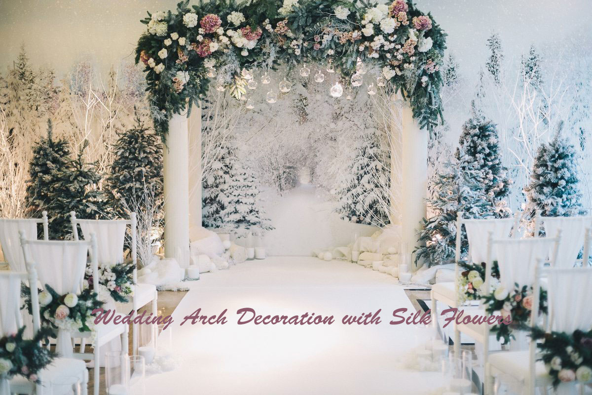 Arch Decorations For Weddings Get Inspired To Diy A Wedding Arch With Silk Flowers For Different