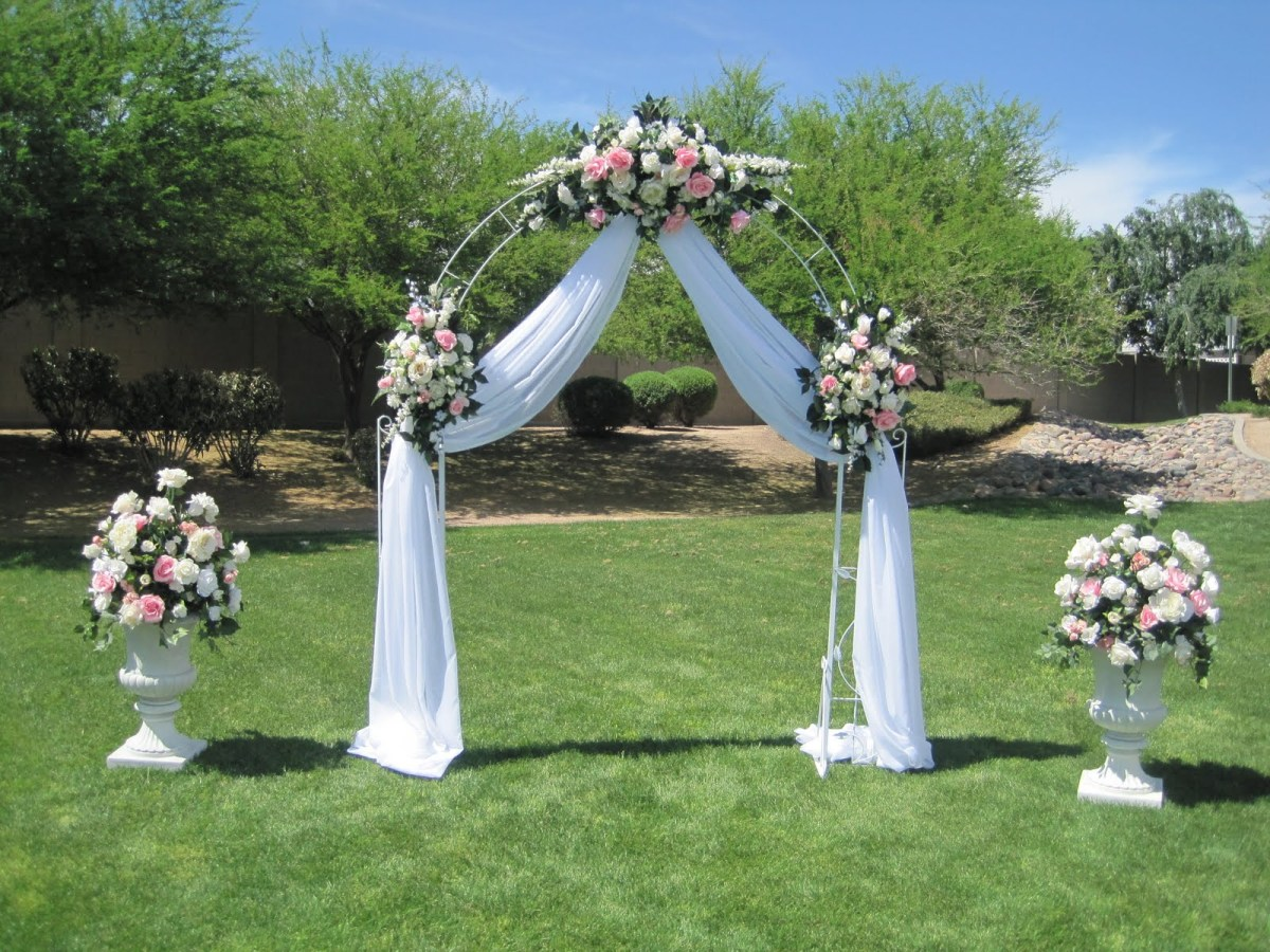 Arch Decorations For Weddings Wedding Flowers Ideas Luxury White Simple Wedding Arch Flowers