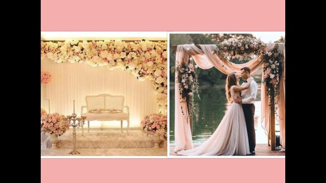 Backdrop Decoration For Wedding Beautiful Backdrops And Wedding Head Table Decoration Ideas