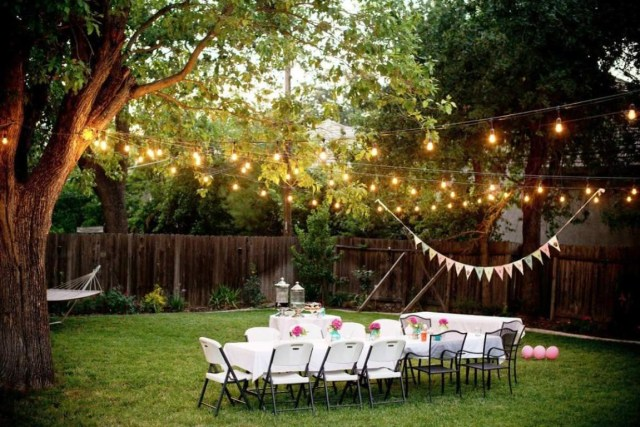 Backyard Wedding Decoration Ideas Romantic Backyard Wedding Decoration Ideas Design Ideas
