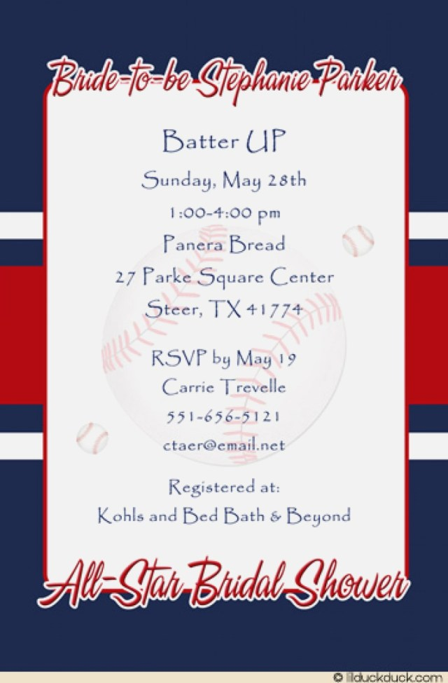 Baseball Wedding Invitations Baseball Wedding Invitations Lovely Wedding Shower Invitation All