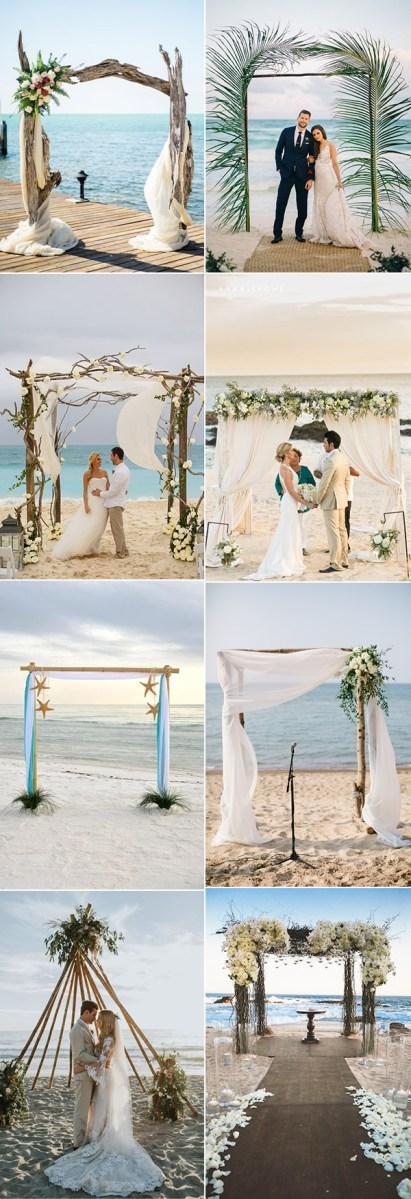 Beach Wedding Reception Decorations 35 Gorgeous Beach Themed Wedding Ideas Elegantweddinginvites Blog