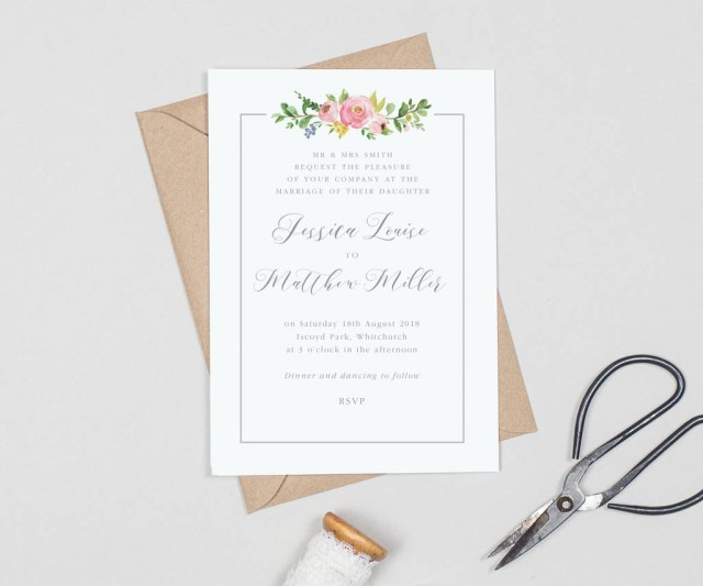 Beautiful Wedding Invitations Decorations Wedding Stationery Packages Traditional Wedding