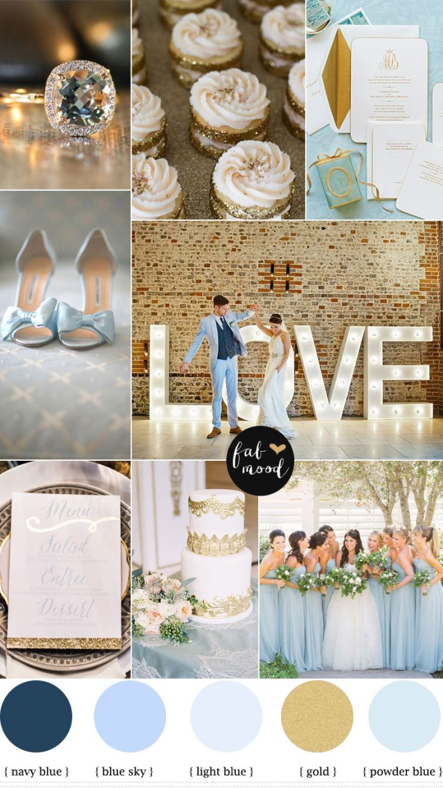 Blue And Gold Wedding Decorations Blue And Gold Wedding Theme Ba Blue And Gold