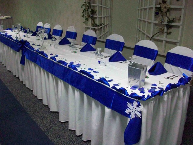 Blue And Gold Wedding Decorations Decorations Royal Blue Wedding Decorations M Roll 2m Wide Shiny