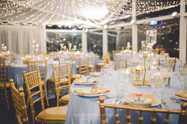 Blue And Gold Wedding Decorations Midnight Blue Wedding Decorations Powder Blue Gold Wedding