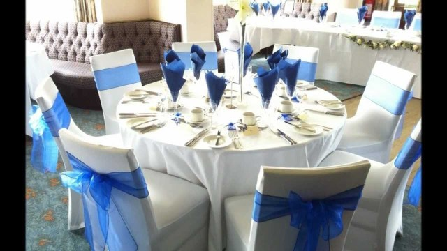 Blue And White Wedding Decor Ideas Adorable Blue And White Wedding Decor Ideas 15 In Blue And White