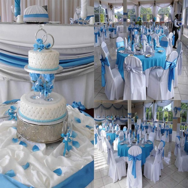 Blue And White Wedding Decor Ideas Ba Blue And White Wedding Theme Gallery Decoration Ideas Best