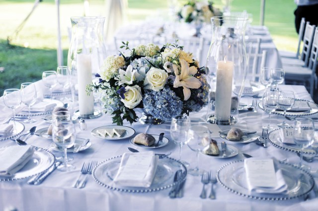 Blue And White Wedding Decor Ideas Blue And White Wedding Decor Decorating Ideas Simple And Neat White