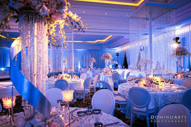 Blue And White Wedding Decor Ideas Blue Wedding Decoration Ideas Elitflat