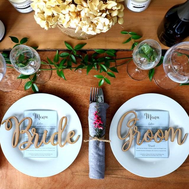 Bride Groom Wedding Table Decorations Wedding Table Decorations Bride And Groom Names