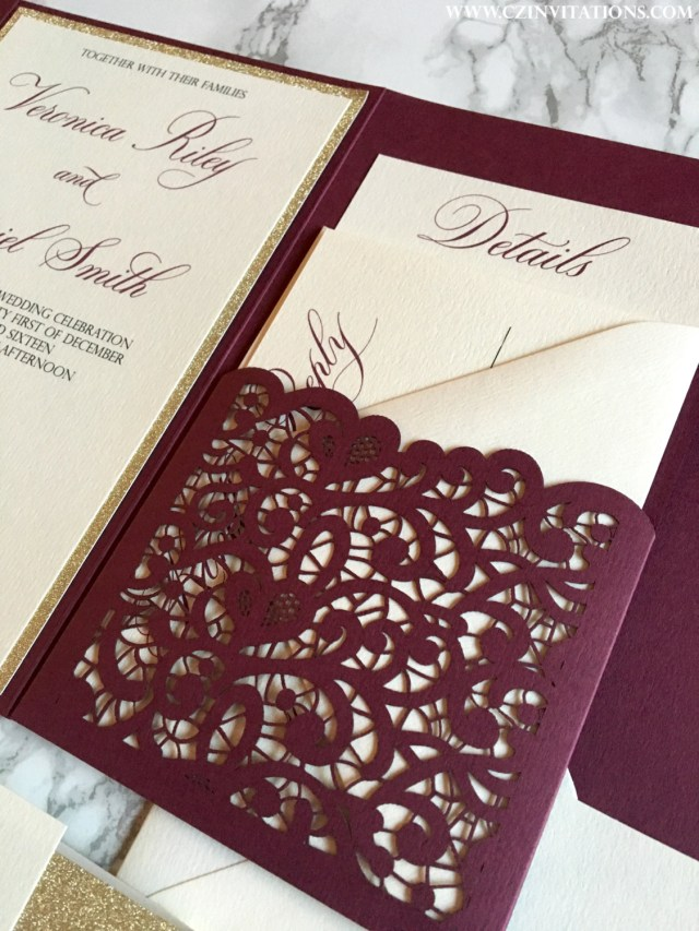 Burgundy Wedding Invitations Burgundy Wedding Invitations Burgundy Wedding Invitations For Having