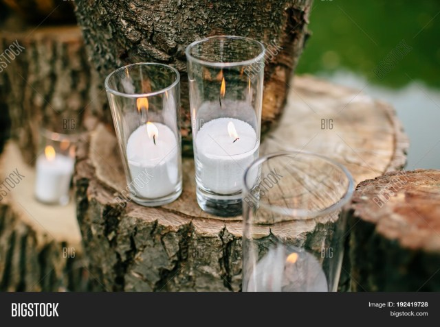 Candle Decorations For Wedding Ceremony Candles Decorated Image Photo Free Trial Bigstock