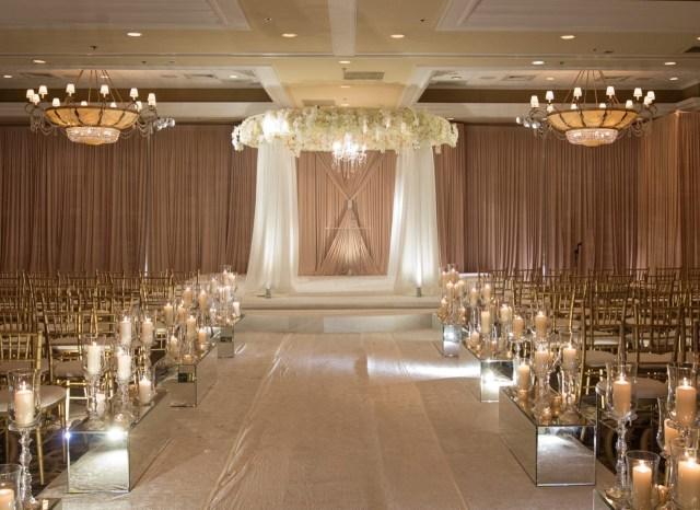Candle Decorations For Wedding Ceremony Jewish Wedding Ceremony Dcor Wedding Flowers And Decorations