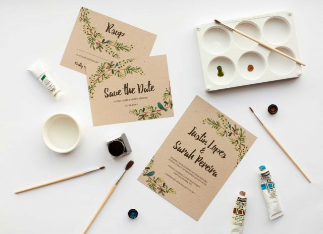 Cheap Make Your Own Wedding Invitations To Diy Or Not To Diy Get The Handmade Wedding Invitations Look