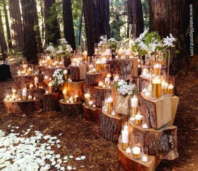 Cheap Outdoor Wedding Decorations Decorations Affordable And Romantic Outdoor Wedding Centerpieces