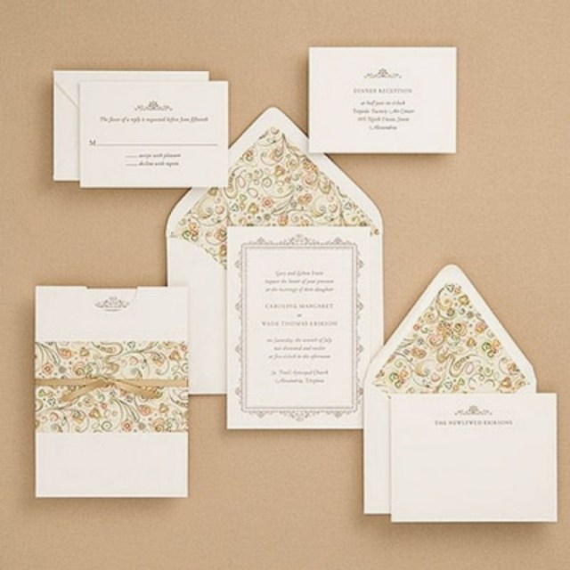 Inexpensive Wedding Invitation Ideas: 30+ Elegant Picture Of Cheap Wedding Invitations Sets
