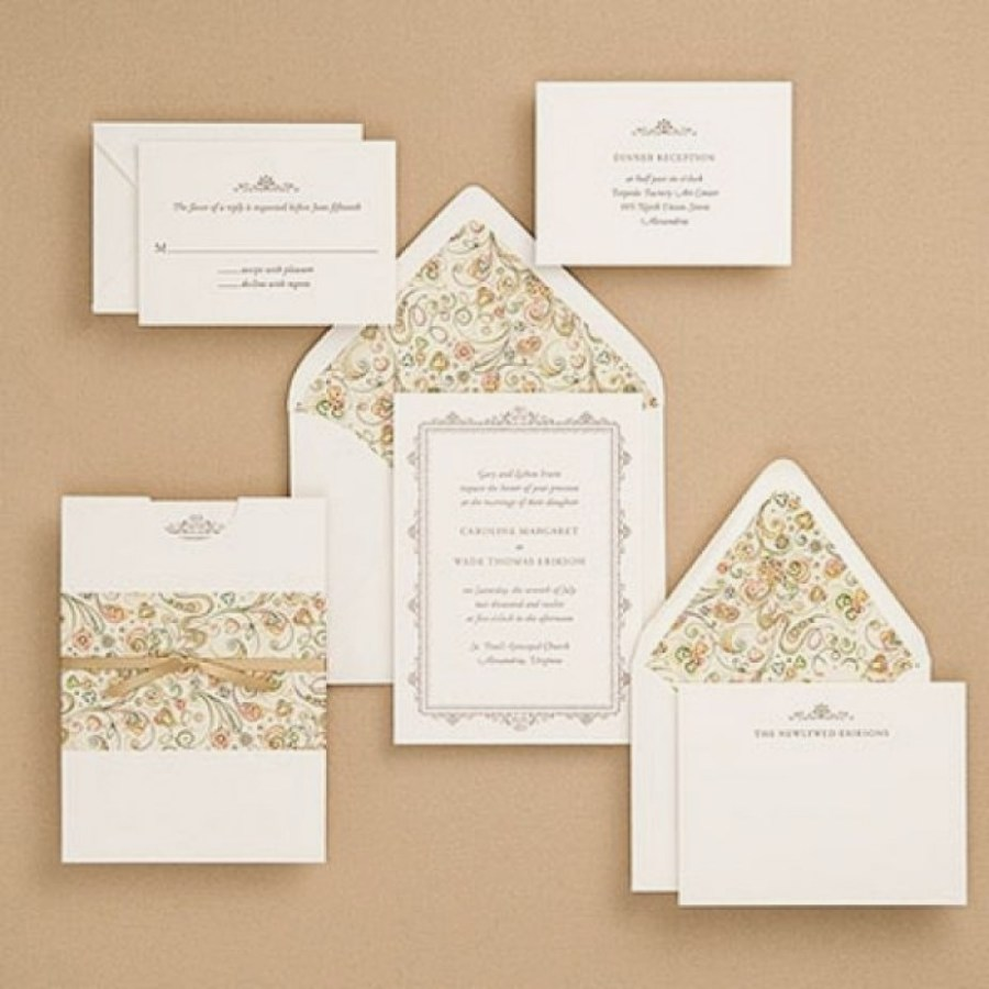 30 Elegant Picture Of Cheap Wedding Invitations Sets Denchaihosp Com