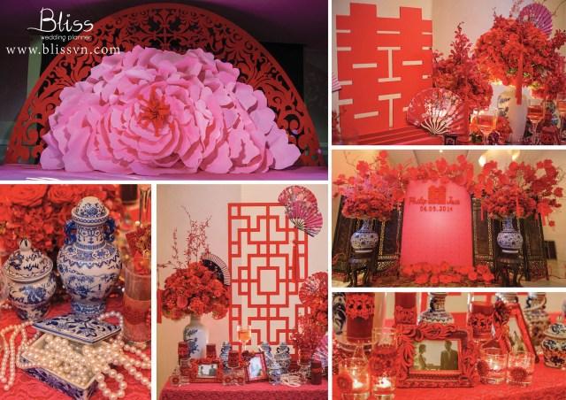 Chinese Wedding Decorations Real Wedding Vivid Chinese Night Bliss Vietnam The Best Wedding