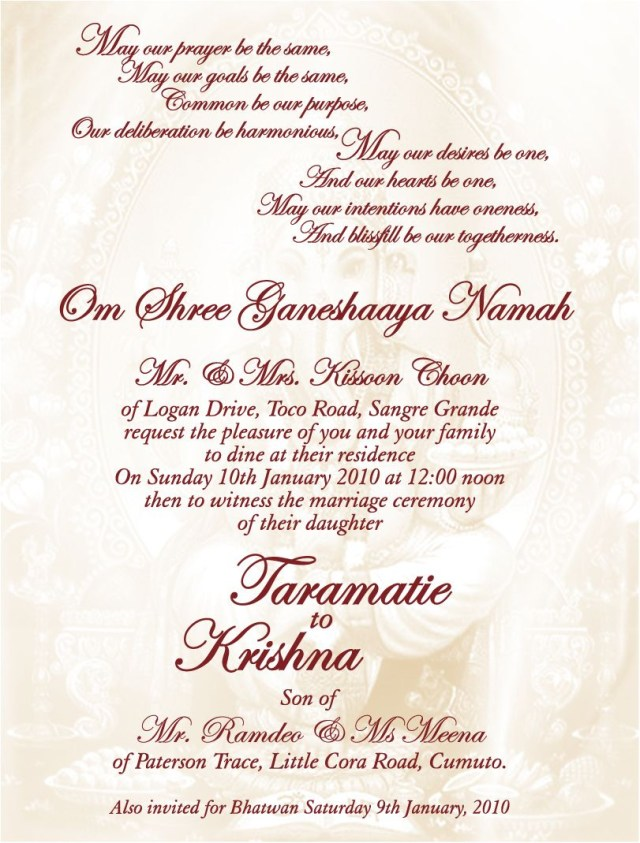 Christian Wedding Invitation Designs Awesome Christian Wedding Invitations Jayashree Pinterest