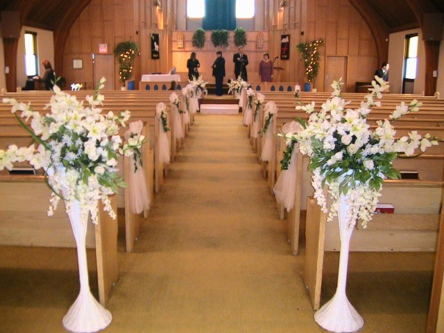 Church Wedding Decorations Ideas Church Decoration Ideas Be Equipped Unique Wedding Ceremony