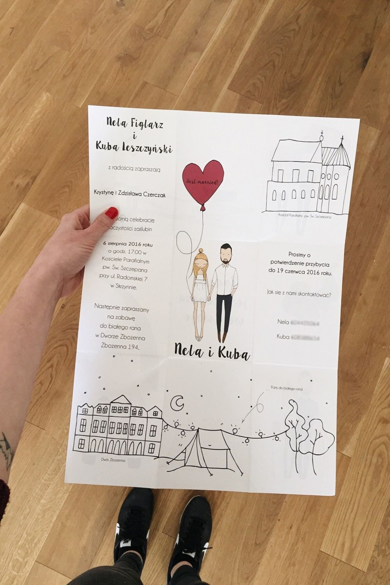 Cool Wedding Invitations Cool Fold Out Wedding Invitations Blanka Biernat You Could Also