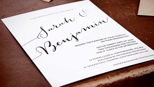Cool Wedding Invitations Stylish Wedding Stationery Uk Wedding Ideas