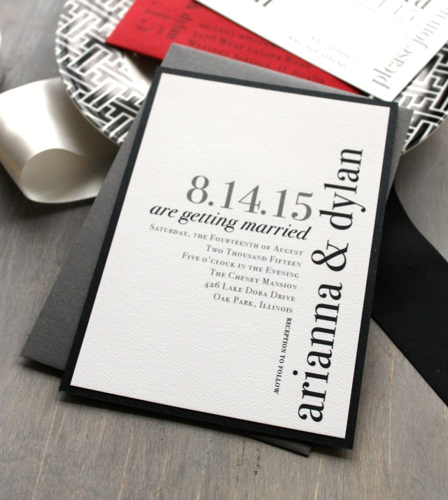Cool Wedding Invitations Unique Wedding Invitation Ideas Modwedding