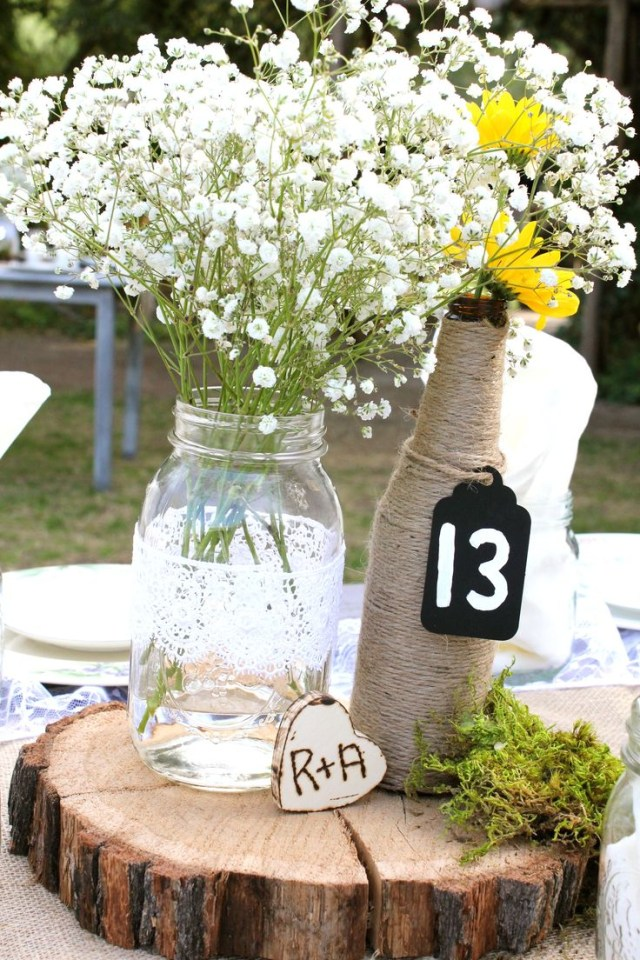 Country Wedding Table Decorations Country Wedding Table Decorations Wedding Decoration Ideas For