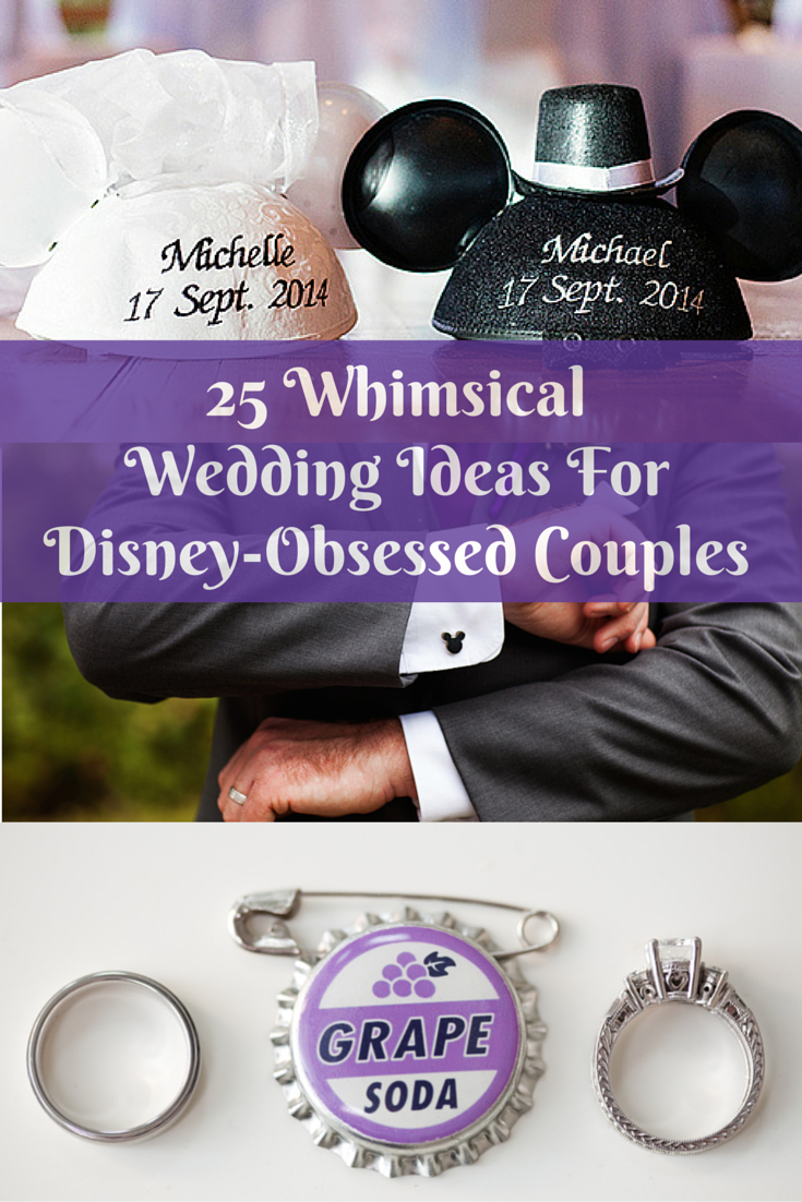 Disney Themed Wedding Invitations 25 Whimsical Wedding Ideas For Disney Obsessed Couples Huffpost Life