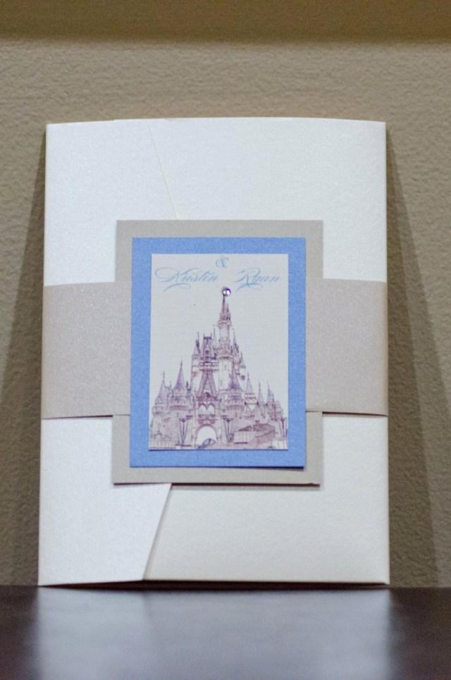 Disney Themed Wedding Invitations Disney Themed Wedding Invitations Cinderella Wedding Invitation
