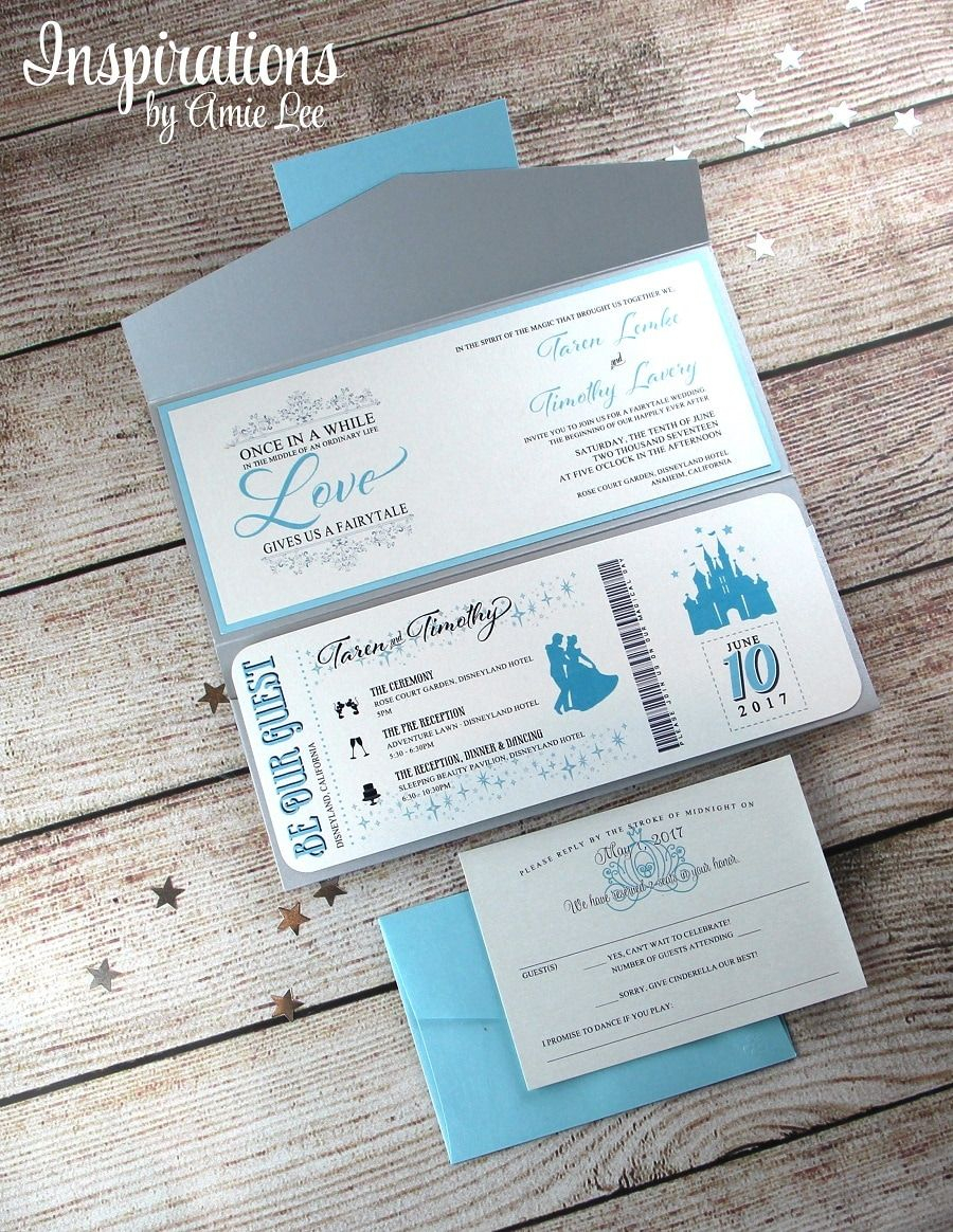 32+ Awesome Picture of Disney Themed Wedding Invitations