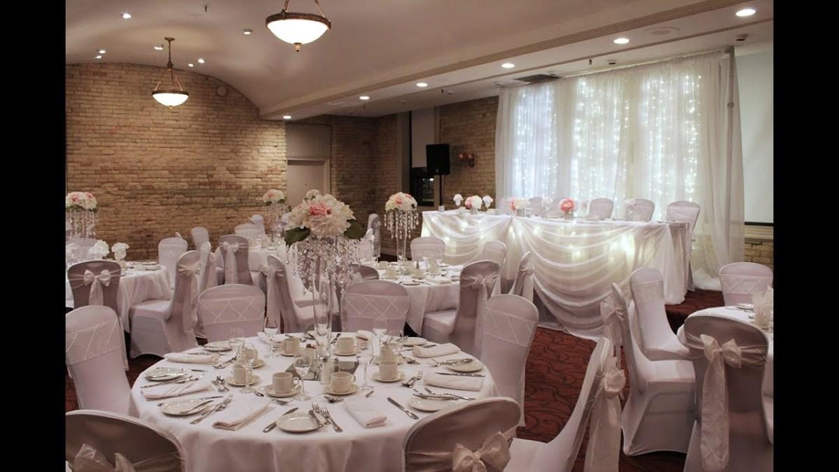 Elegant Wedding Decor Beautiful Elegant White Wedding Decor Youtube