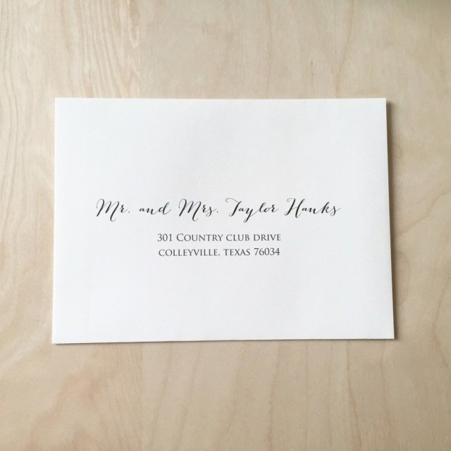 What Is The Etiquette For Wedding Invitations: 30+ Brilliant Image Of Etiquette For Addressing Wedding