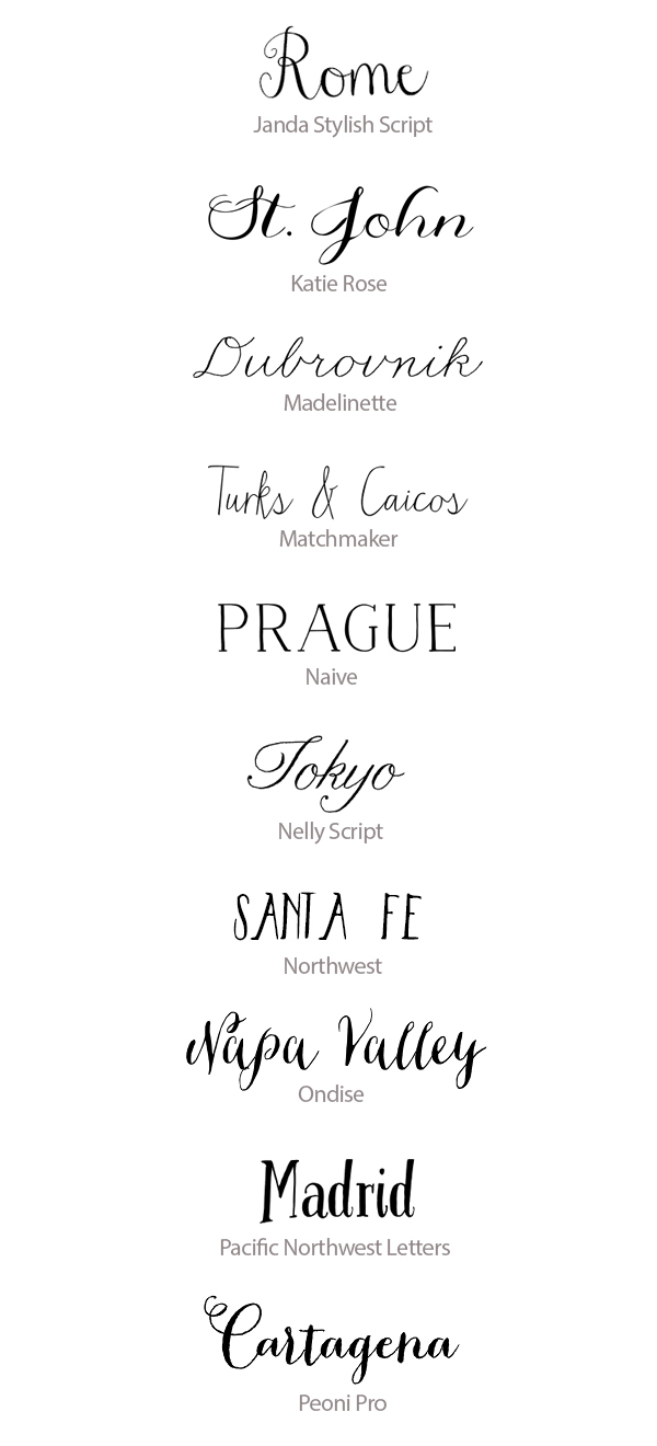 Font For Wedding Invitations Best Calligraphy Fonts For Weddings 50 Hand Lettered Fonts