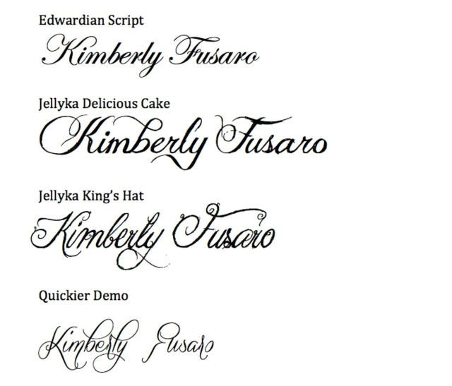 Font For Wedding Invitations Cheap Wedding Calligraphy Easy Calligraphy For Your Wedding