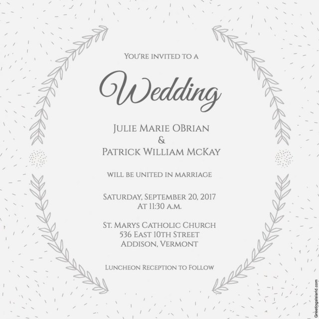 Free Wedding Invitation Printables Wedding Invitation Template Massvn