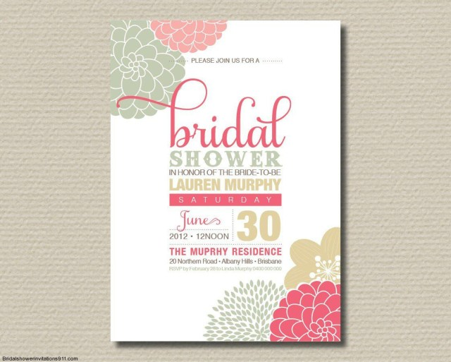 Free Wedding Shower Invitation Templates Bridal Shower Invitation Wording Ideas Sofasitters The