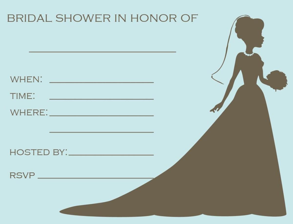 Free Wedding Shower Invitation Templates Free Printable Bridal Shower Invitations Templates Bridal Designs