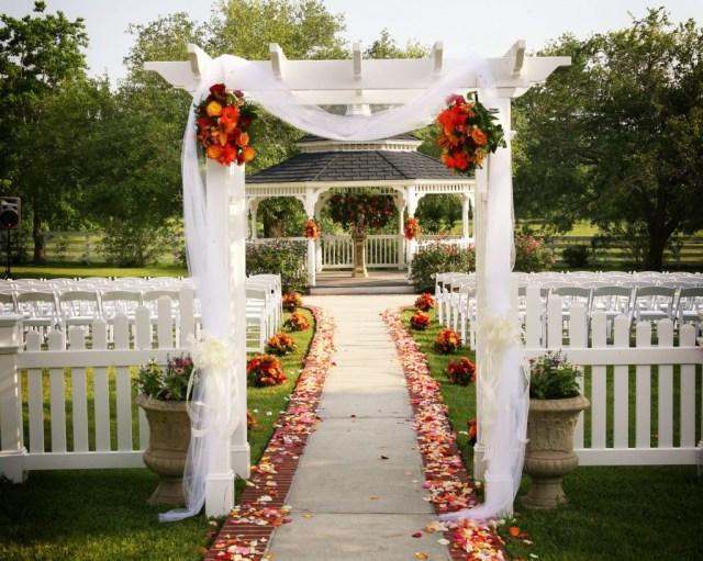 Gazebo Wedding Decorations Outdoor Wedding Gazebo Decorating Ideas Nucno