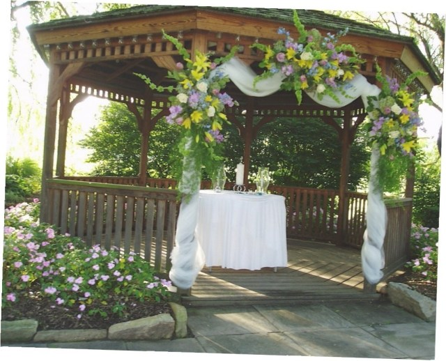 Gazebo Wedding Decorations Outside Gazebo Wedding Decoration Ideas Gazebo Outdoor Wedding