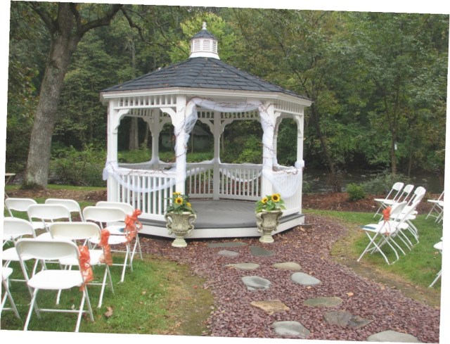 Gazebo Wedding Decorations Outside Gazebo Wedding Decoration Ideas
