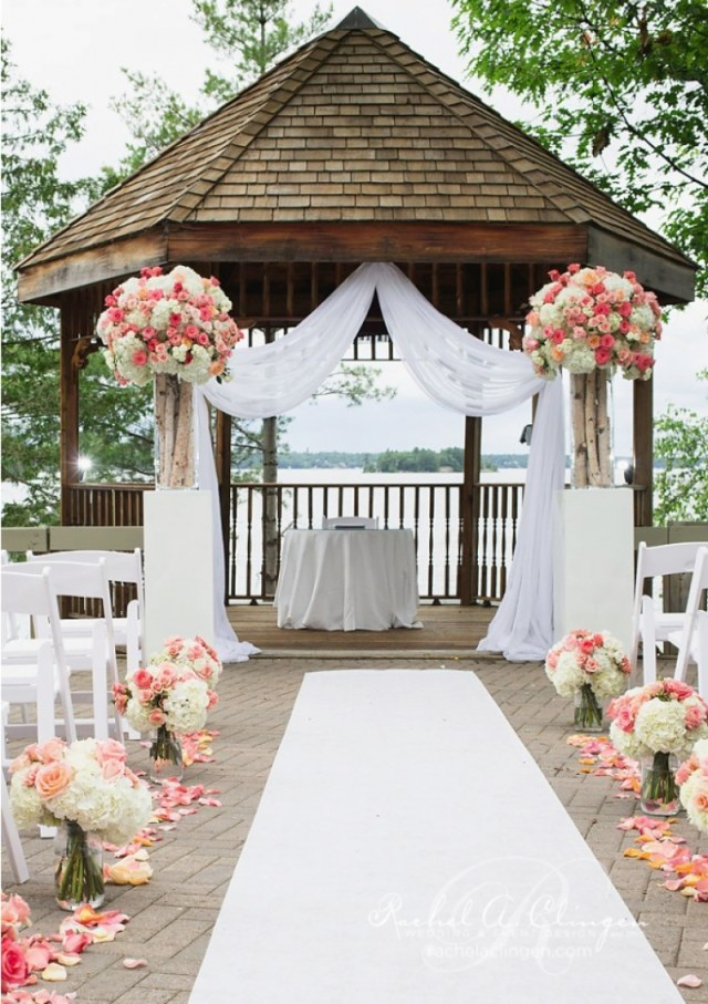 Gazebo Wedding Decorations Simply Gazebo Wedding Decor Wedding Ideas