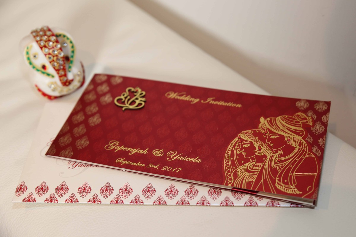 Hindu Wedding Invitations Tamil Wedding Cards Is A Well Known Brand In The Uk