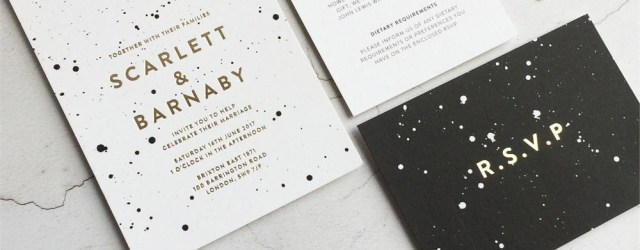 His And Hers Wedding Invitations Wedding Invitation Wording The Ultimate Guide Hitchedcouk