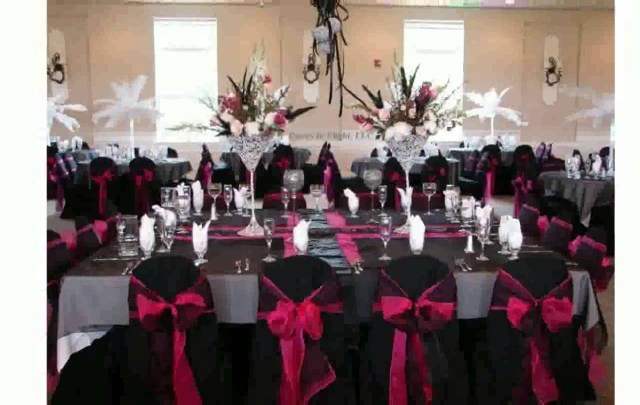 Hot Pink And Silver Wedding Decorations Hot Pink And Silver Wedding Decorations Pink Wedding Decoration