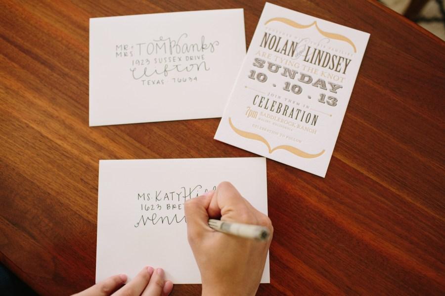 How To Address A Wedding Invitation Diy Wedding Envelope Addressing Tips Julep