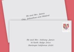 How To Properly Address Wedding Invitations How To Address Wedding Invitation Envelopes Anns Bridal Bargains